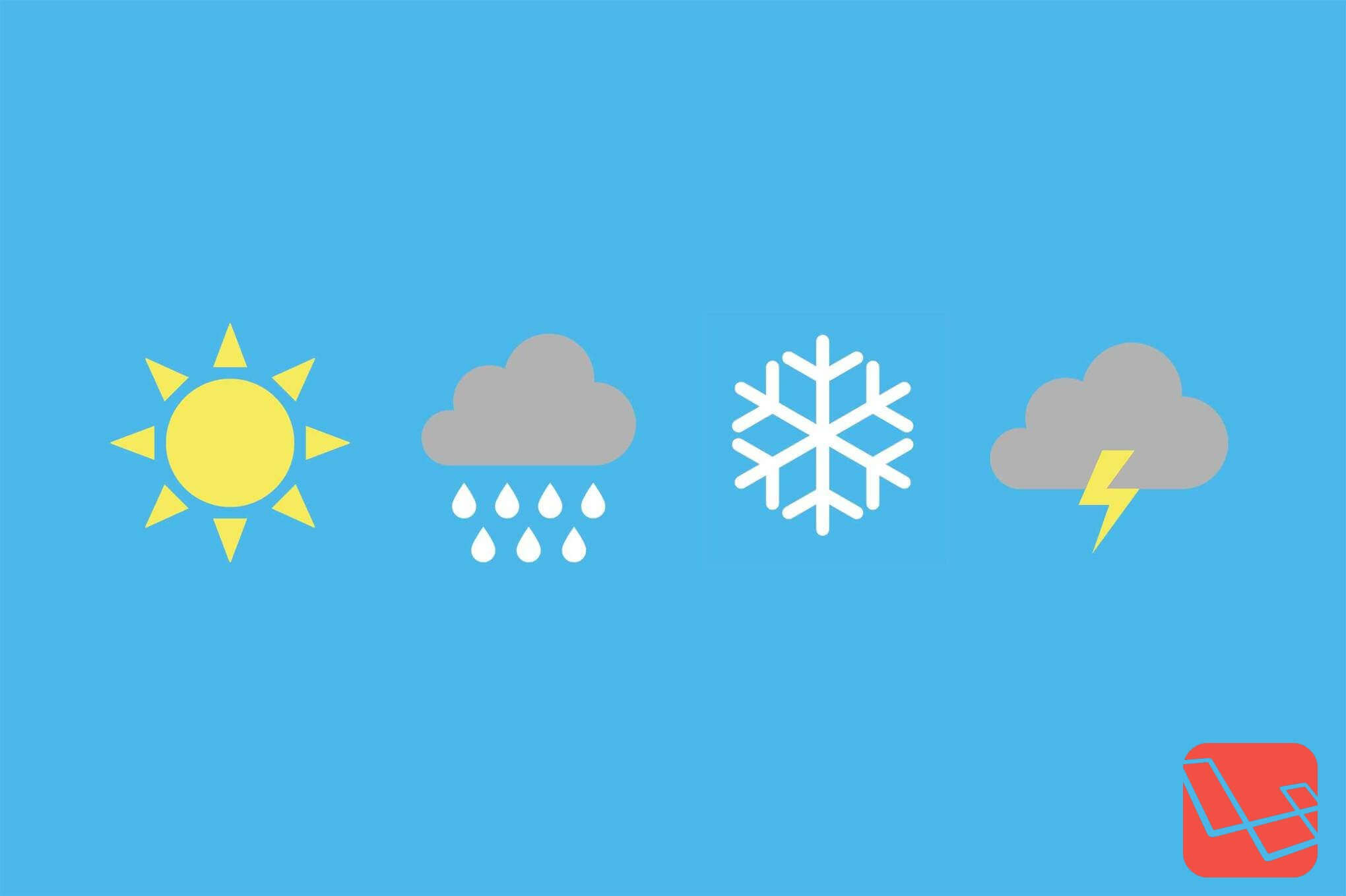 Laravel Weather Package
